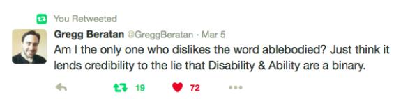 Gregg tweet