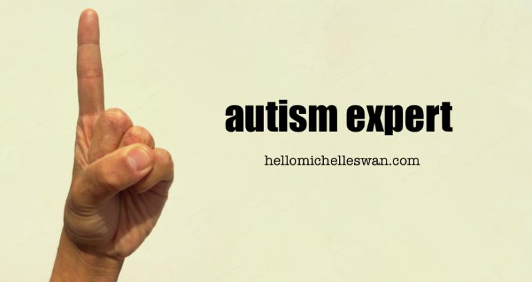 autism expert Hello Michelle Swan